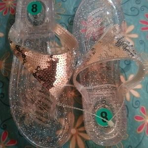 Rampage Jelly size 8 sandals